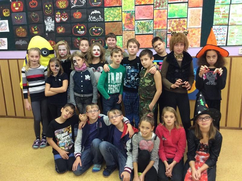 Halloween v 5. třídě