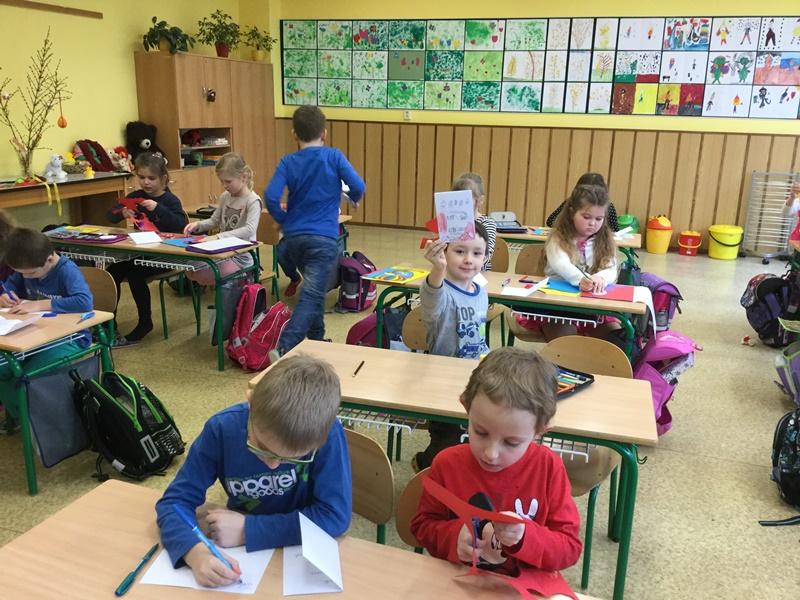 Projektový den v 1. třídě