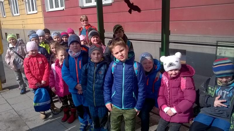 Velikonoční výlet školní družiny