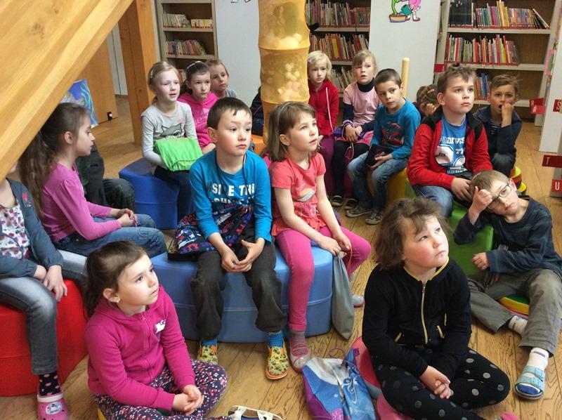 Pasování prvňáčků na rytíře Řádu čtenářského – 3. setkání