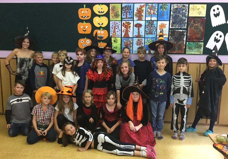 Halloween v angličtině na 1. stupni