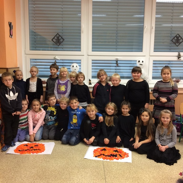 Halloween v 1. třídě