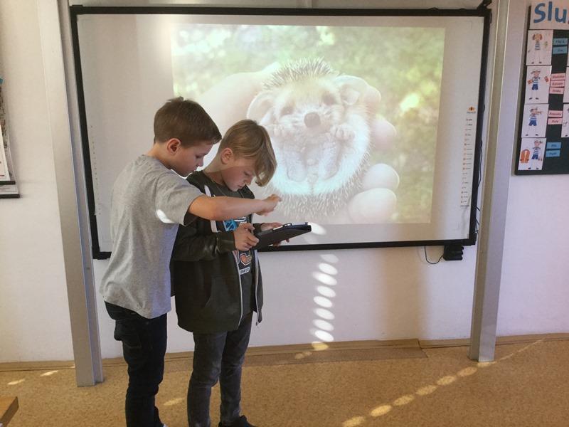 Den s iPady ve 4. třídě