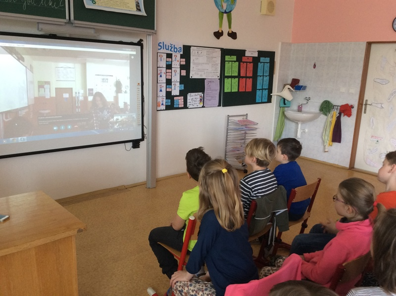 Videokonference a projekt Ready, steady, go!