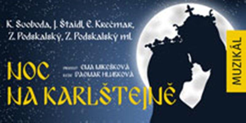 Muzikál Noc na Karlštejně ve Slezském divadle v Opavě