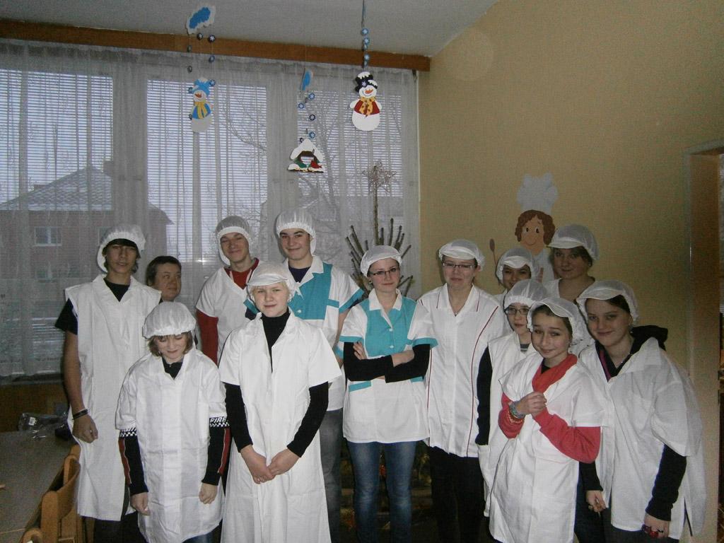 Žákovská rada navštívila školní kuchyň
