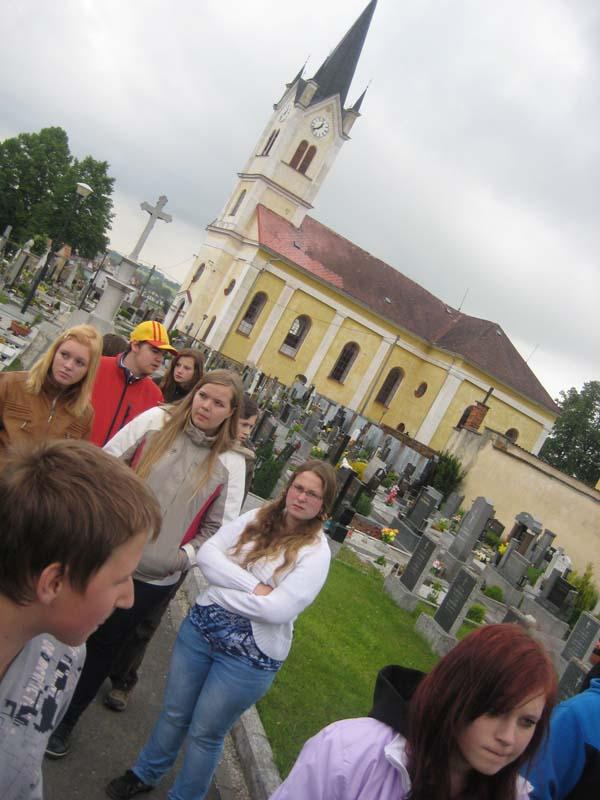 Návštěva místního kostela Neplachovice