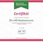 Certifikát ŠJ