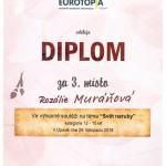 Diplom Muráňová