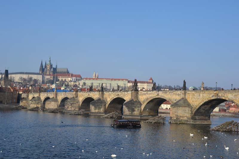 Páťáci a Ledová Praha