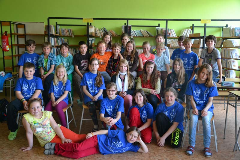 Návštěva páťáků z Brumovic – 23. 4. 2014