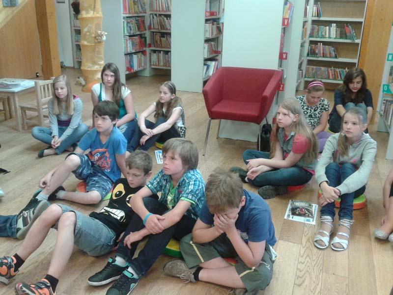 Návštěva knihovny Holasovice