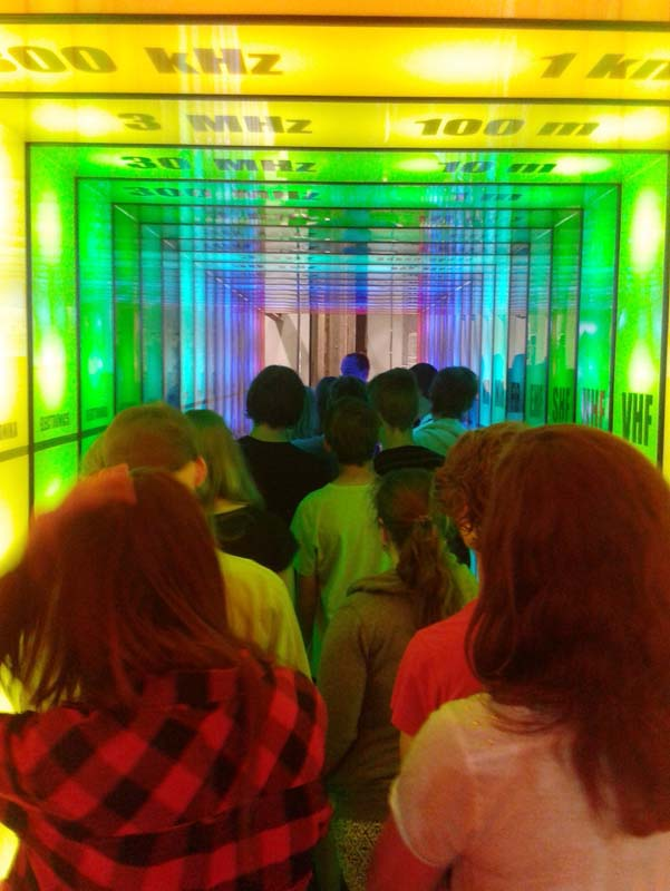 Budiž světlo – expozice U6, Dolní oblast Vítkovice