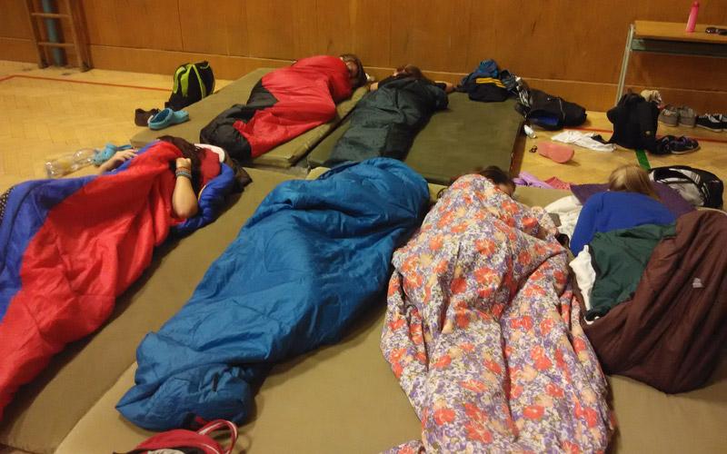 Spaní - nespaní ve škole