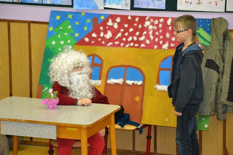 Vánoční besídka ve 4. třídě