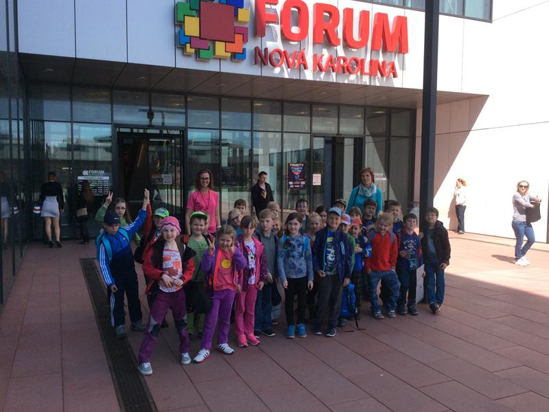 Náš první školní výlet