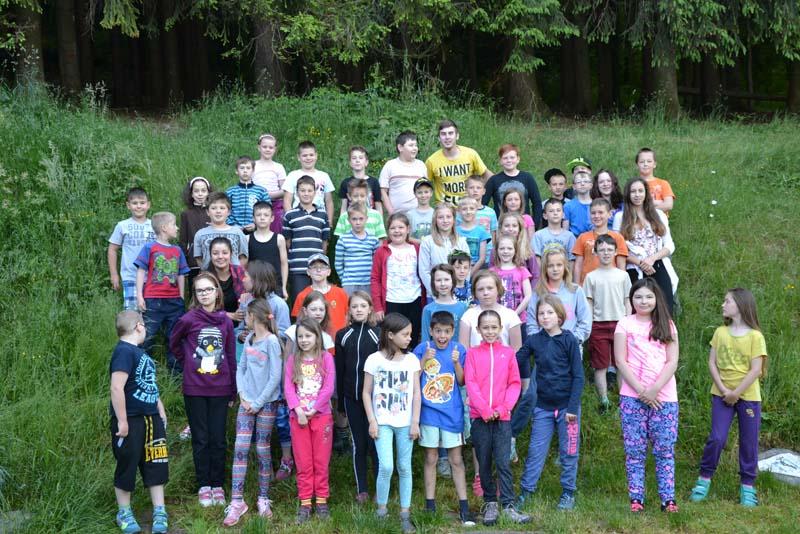 Škola v přírodě 1. – 5. června