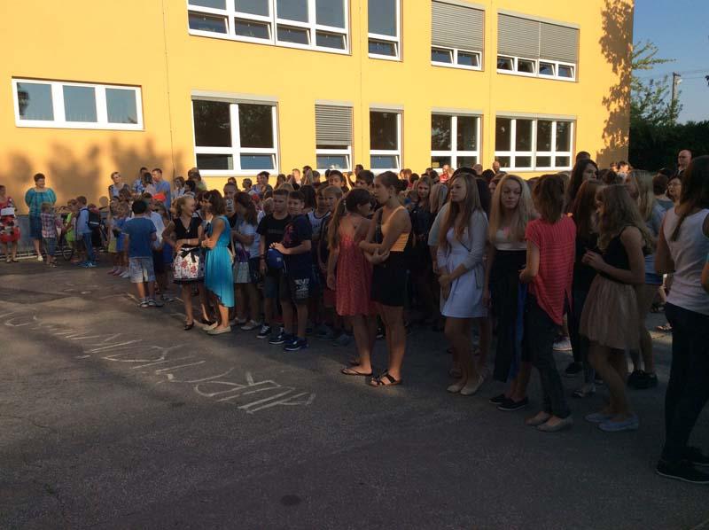 Zahájení nového školního roku 2015/2016