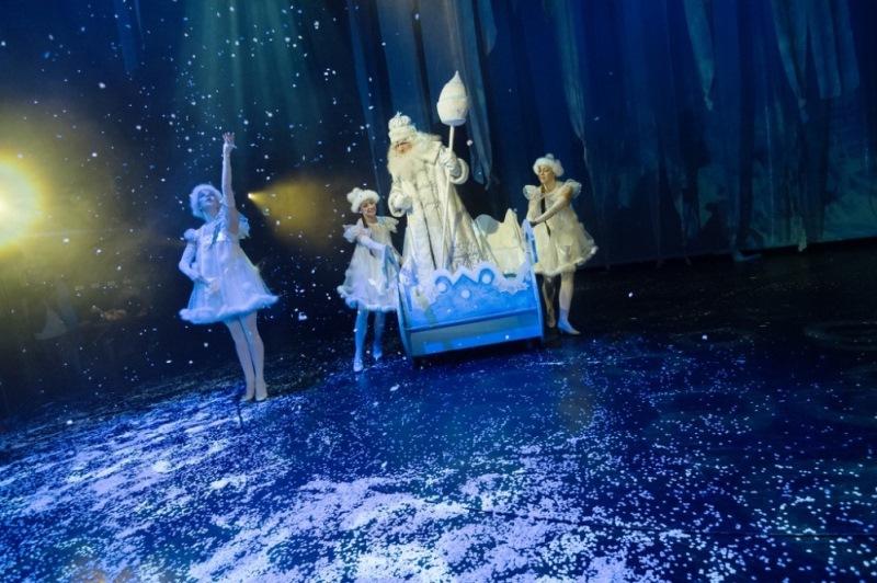 Muzikál Mrazík ve Slezském divadle v Opavě