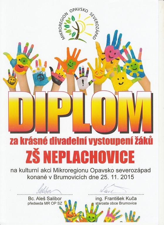 Kulturní vystoupení žáků ZŠ Mikroregionu Opavsko