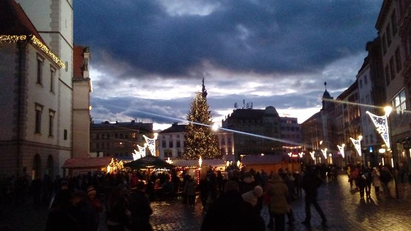 Vánoční trhy v Olomouci