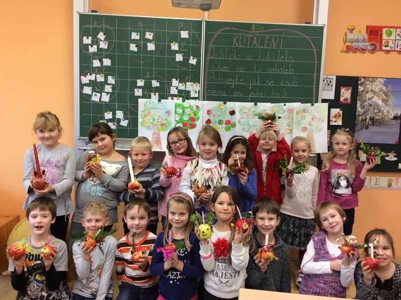 Jablíčkový den v 1. třídě