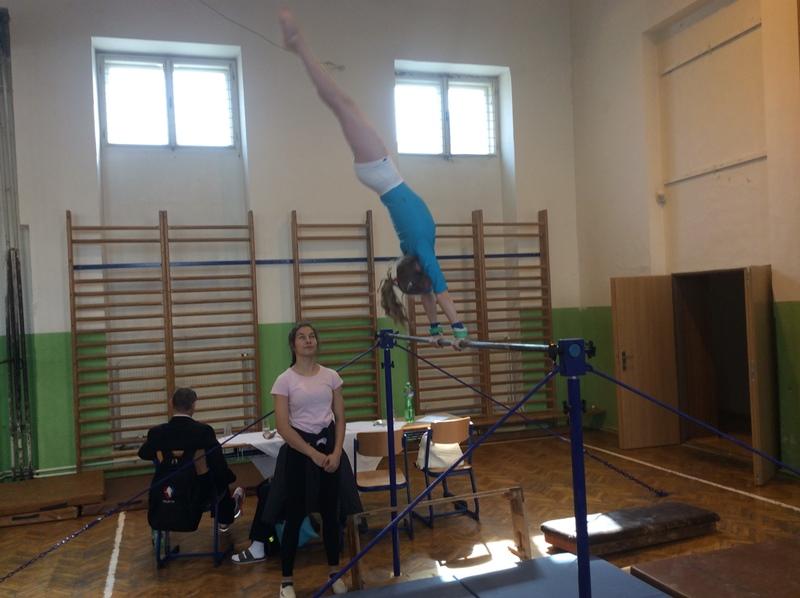 Krajské finále ve sportovní gymnastice
