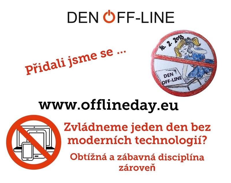 Den Off – line s odpoledním programem ve škole
