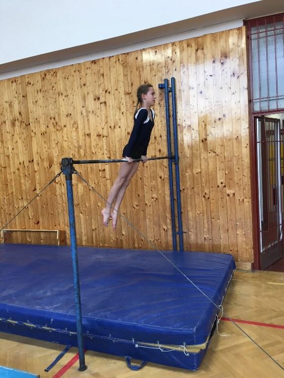 Soutěž ve sportovní gymnastice