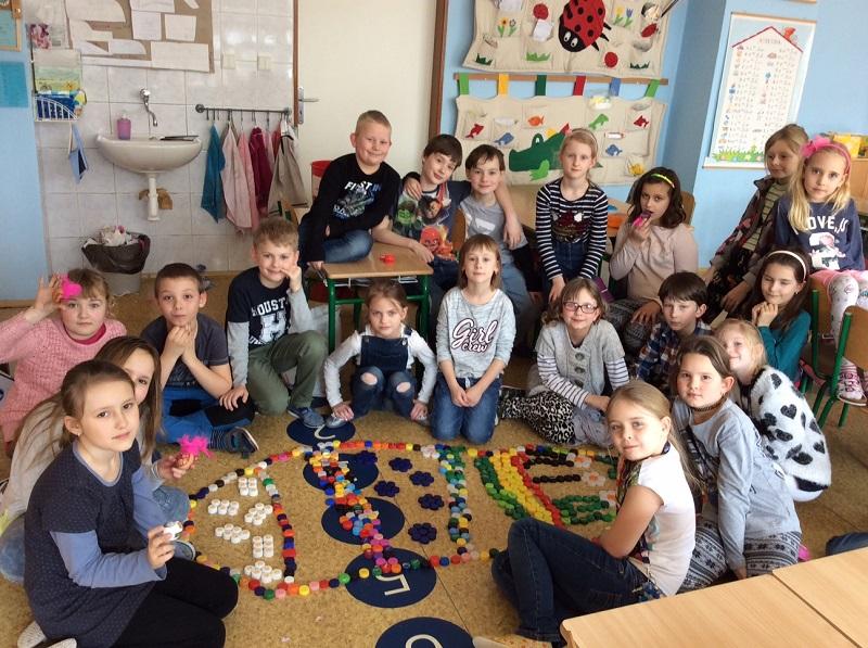 Velikonoční vyučování ve druhé třídě