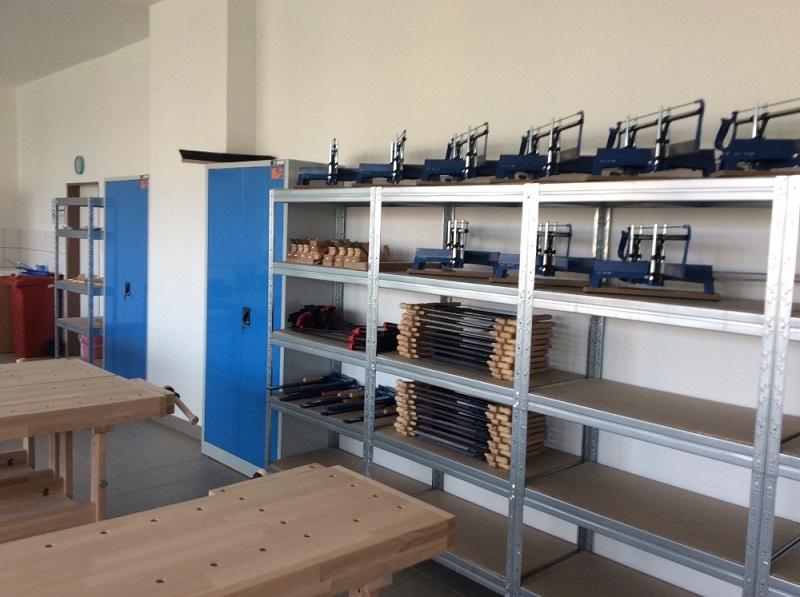 Rekonstrukce školních dílen
