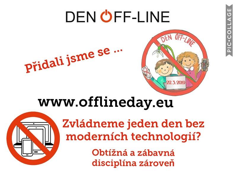 Den Off – line a odpolední program ve škole