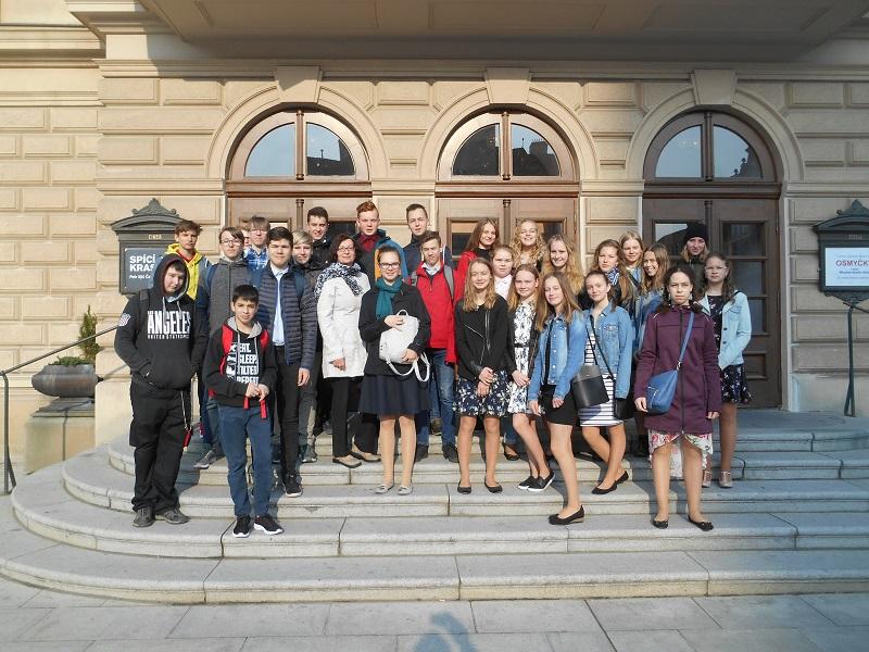 Divadelní představení ve Slezském divadle v Opavě