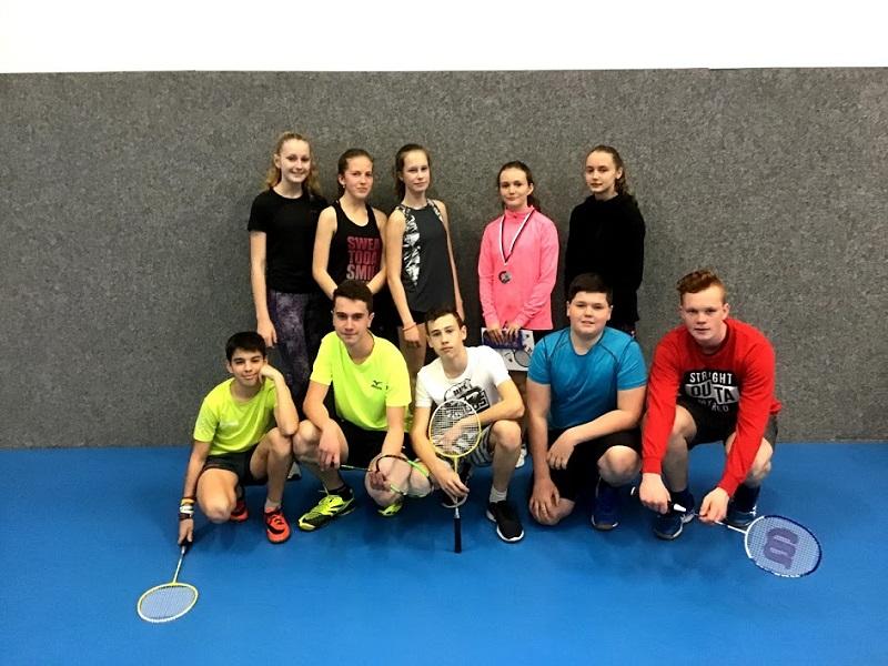 Badmintonový turnaj v Háji ve Slezsku