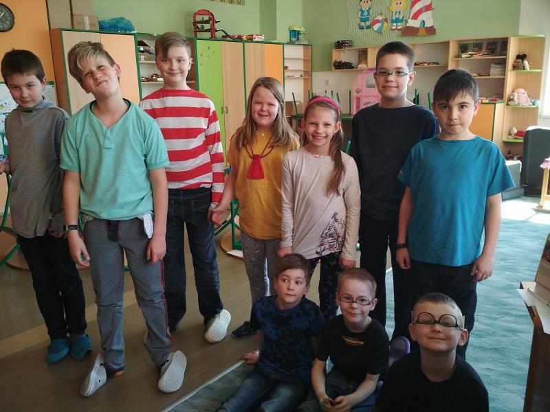 Apríl ve školní družině aneb Fšecko naruby