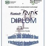 Diplom Fojtík