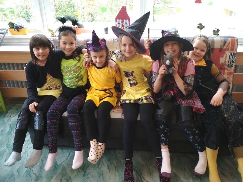 Čarodějnické dovádění ve školní družině