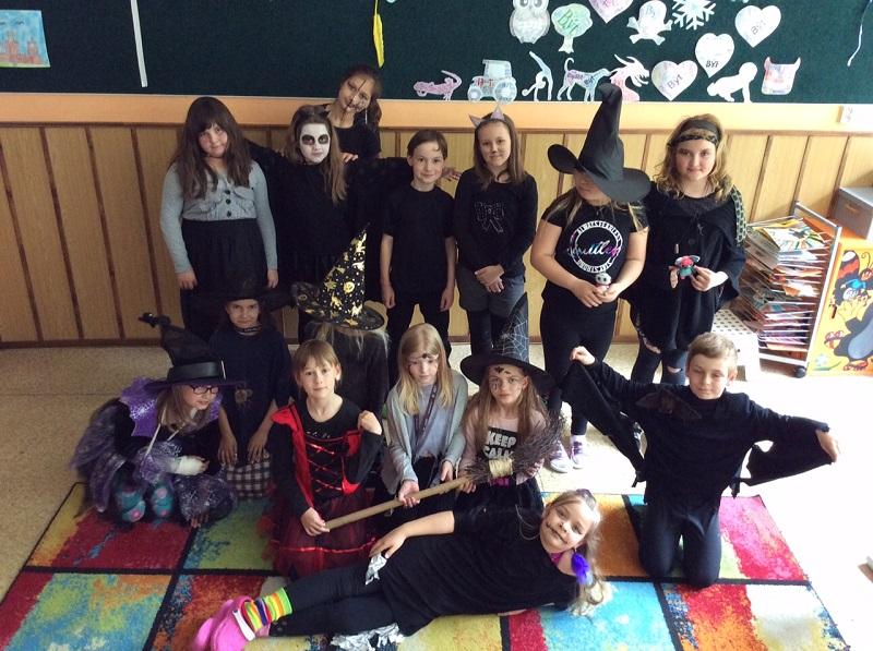 Slet čarodějnic ve 3. třídě