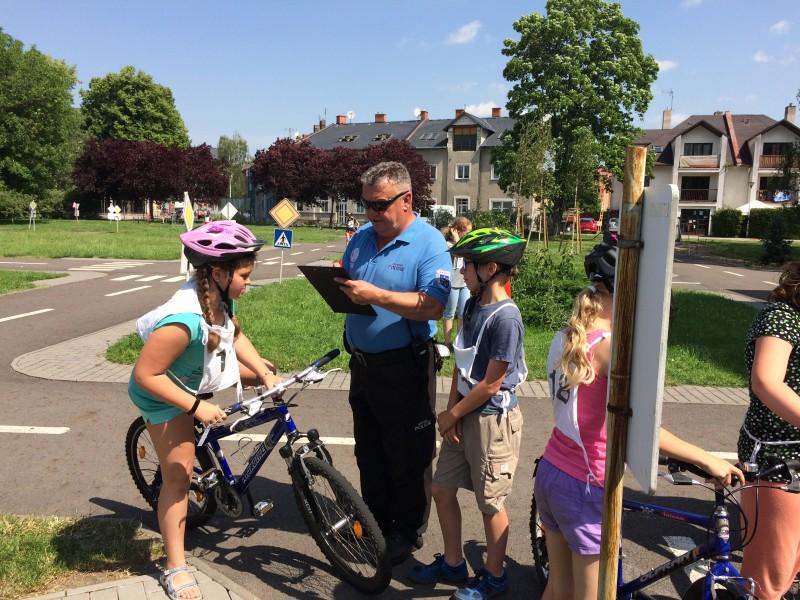 Boj o průkaz cyklisty