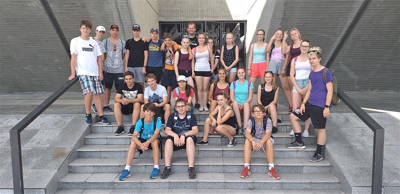 Exkurze do Národního památníku II. světové války v Hrabyni