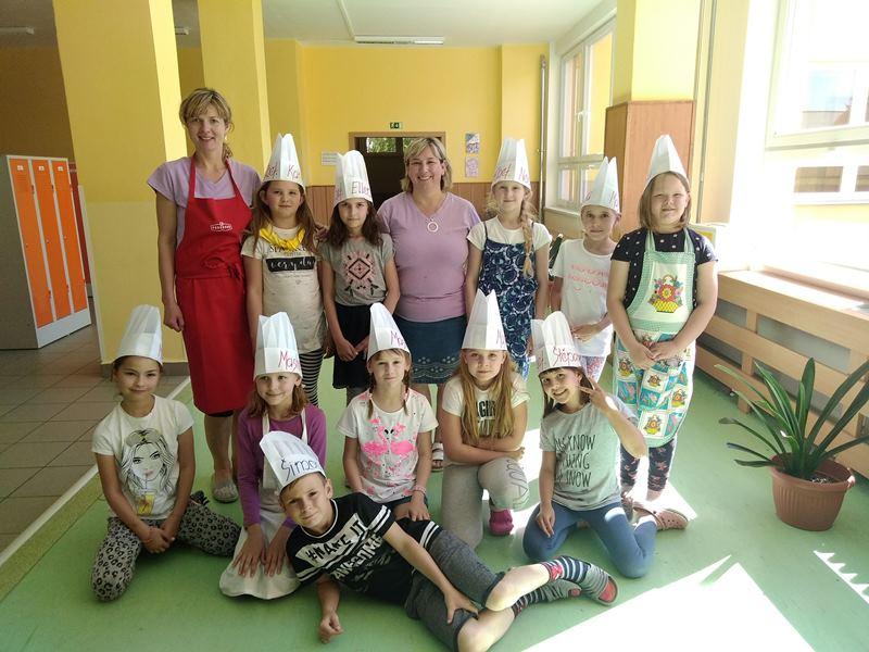 Ochutnávka pro rodiče v kroužku vaření