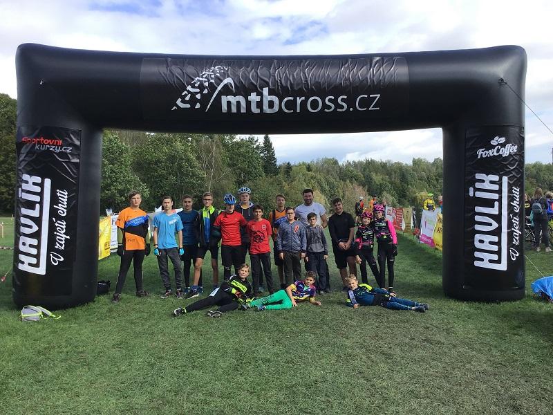 Závody na horských kolech – MTBCross Opava