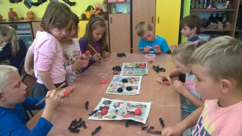 Podzimní tvoření ve školní družině