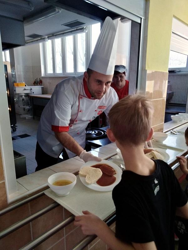 Vaříme se šéfkuchařem panem Zbyňkem Diatkou