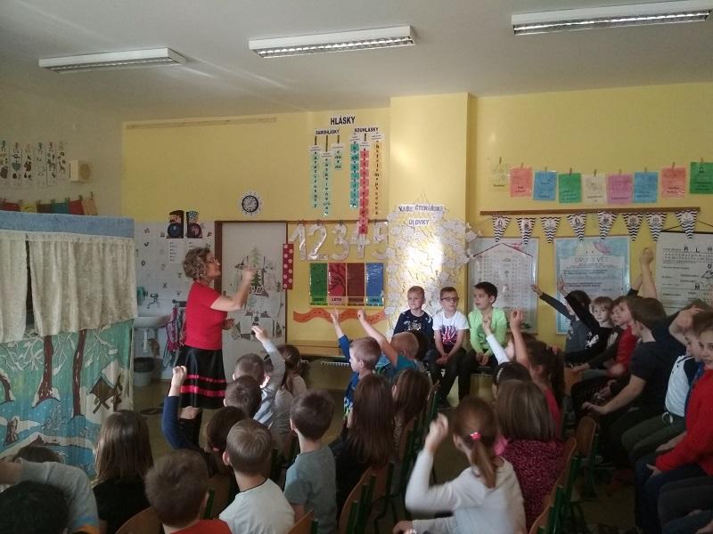 Divadlo Beruška ve školní družině