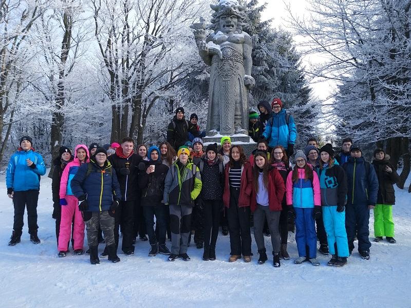 Zimní výlet osmých tříd