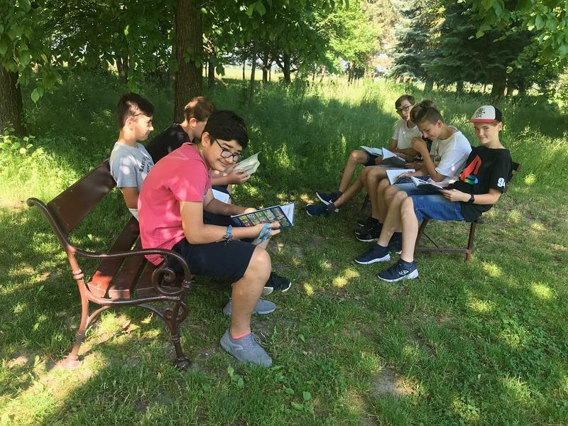Učení venku